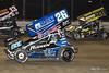 DIRTcar Nationals - World of Outlaws Craftsman Sprint Car Series - Volusia Speedway Park - 26 Joey Saldana, 27 Greg Hodnett