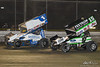 DIRTcar Nationals - World of Outlaws Craftsman Sprint Car Series - Volusia Speedway Park - 1S Logan Schuchart, 15 Donny Schatz
