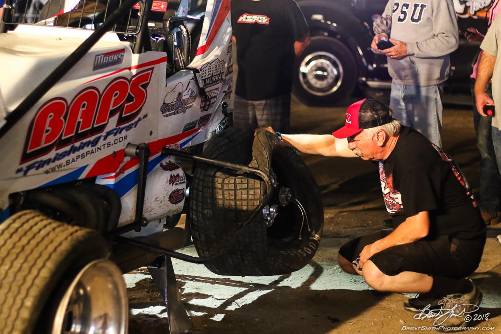 DIRTcar Nationals - World of Outlaws Craftsman Sprint Car Series - Volusia Speedway Park - 19 Brent Marks