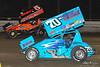 DIRTcar Nationals - World of Outlaws Craftsman Sprint Car Series - Volusia Speedway Park - 70 Dave Blaney, 5 David Gravel