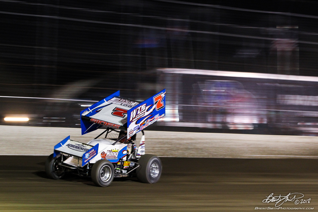 DIRTcar Nationals - World of Outlaws Craftsman Sprint Car Series - Volusia Speedway Park - 7S Jason Sides