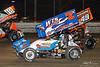 DIRTcar Nationals - World of Outlaws Craftsman Sprint Car Series - Volusia Speedway Park - 18 Ian Madsen, 7S Jason Sides, 49X Tim Shaffer