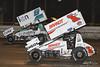 DIRTcar Nationals - World of Outlaws Craftsman Sprint Car Series - Volusia Speedway Park - 1K Kyle Larson, 9 Daryn Pittman