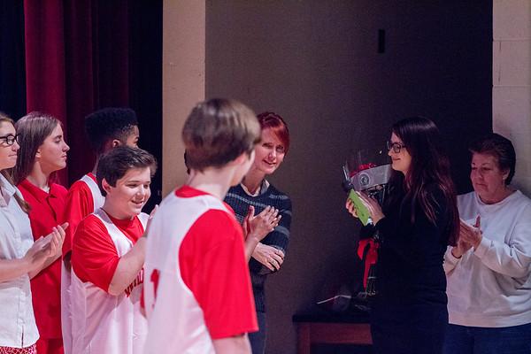 WBMS High School Musical Eighth Grader Speeches