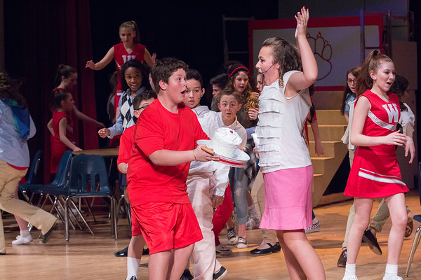 WBMS High School Musical Friday Performance