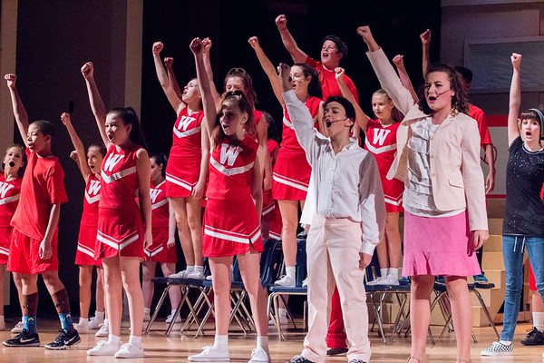 WBMS High School Musical Saturday Matinee Performance