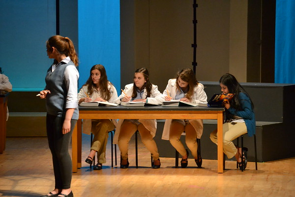 WBMS High School Musical Tuesday Dress Rehearsal