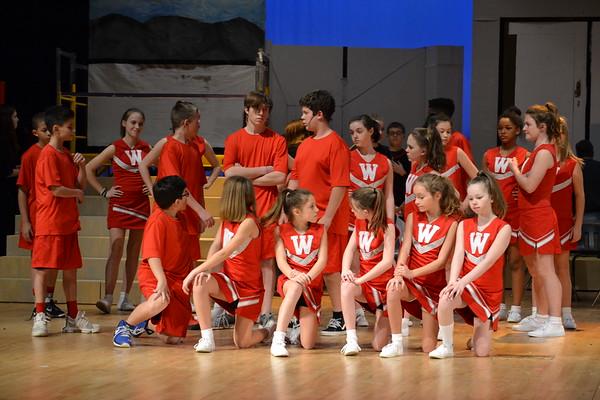 WBMS High School Musical Wednesday Dress Rehearsal