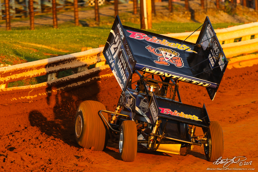 Mitch Smith Memorial - PA Sprint Car Speedweek - Williams Grove Speedway - 21 Brian Montieth