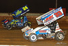 Mitch Smith Memorial - PA Sprint Car Speedweek - Williams Grove Speedway - 24 Rico Abreu, 33 Jared Esh