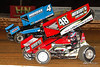 Mitch Smith Memorial - PA Sprint Car Speedweek - Williams Grove Speedway - 4 Parker Price Miller, 48 Danny Dietrich