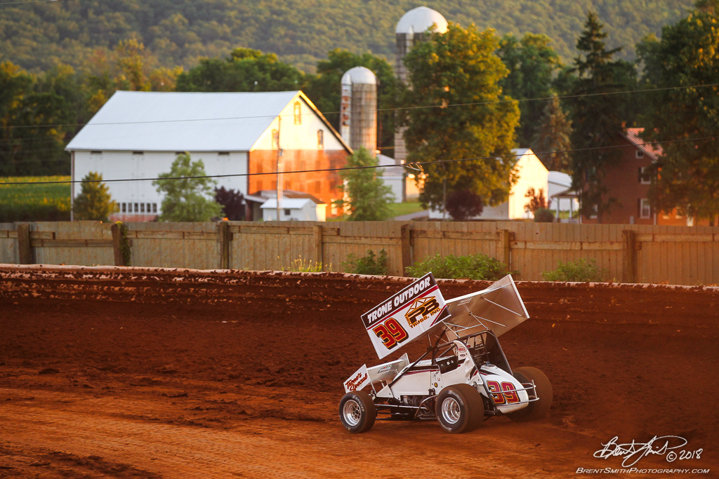 Mitch Smith Memorial - PA Sprint Car Speedweek - Williams Grove Speedway - 39 Cory Haas