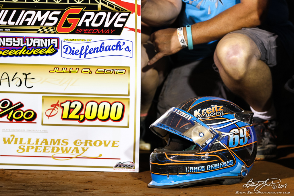 Mitch Smith Memorial - PA Sprint Car Speedweek - Williams Grove Speedway - 69K Lance Dewease