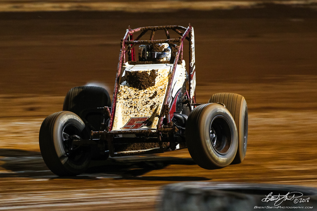 USAC AMSOIL National Sprint Car Championship - Williams Grove Speedway - 5D Zach Daum