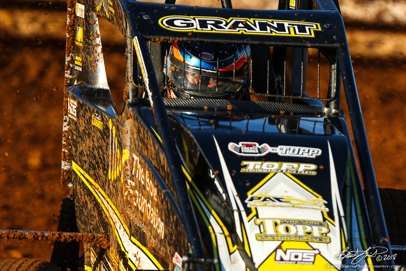 USAC AMSOIL National Sprint Car Championship - Williams Grove Speedway - 4 Justin Grant