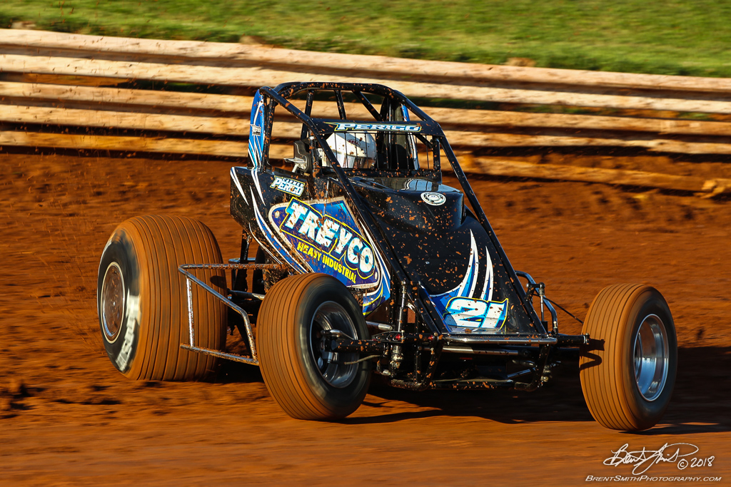USAC AMSOIL National Sprint Car Championship - Williams Grove Speedway - 21 Carmen Perigo