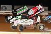Champion Racing Oil Summer Nationals - World of Outlaws Craftsman Sprint Car Series - Williams Grove Speedway - 15 Donny Schatz, 24 Lucas Wolfe