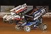 Champion Racing Oil Summer Nationals - World of Outlaws Craftsman Sprint Car Series - Williams Grove Speedway - 2 Shane Stewart, 21 Brian Montieth