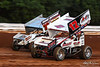 Champion Racing Oil Summer Nationals - World of Outlaws Craftsman Sprint Car Series - Williams Grove Speedway - 17B Steve Buckwalter, 39 Cory Haas