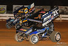 Champion Racing Oil Summer Nationals - World of Outlaws Craftsman Sprint Car Series - Williams Grove Speedway - 49 Brad Sweet, 21 Brian Montieth