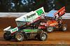Champion Racing Oil Summer Nationals - World of Outlaws Craftsman Sprint Car Series - Williams Grove Speedway - 39M Anthony Macri, 3z Brock Zearfoss