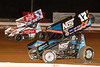 Champion Racing Oil Summer Nationals - World of Outlaws Craftsman Sprint Car Series - Williams Grove Speedway - 1S Logan Schuchart,17S Sheldon Haudenschild
