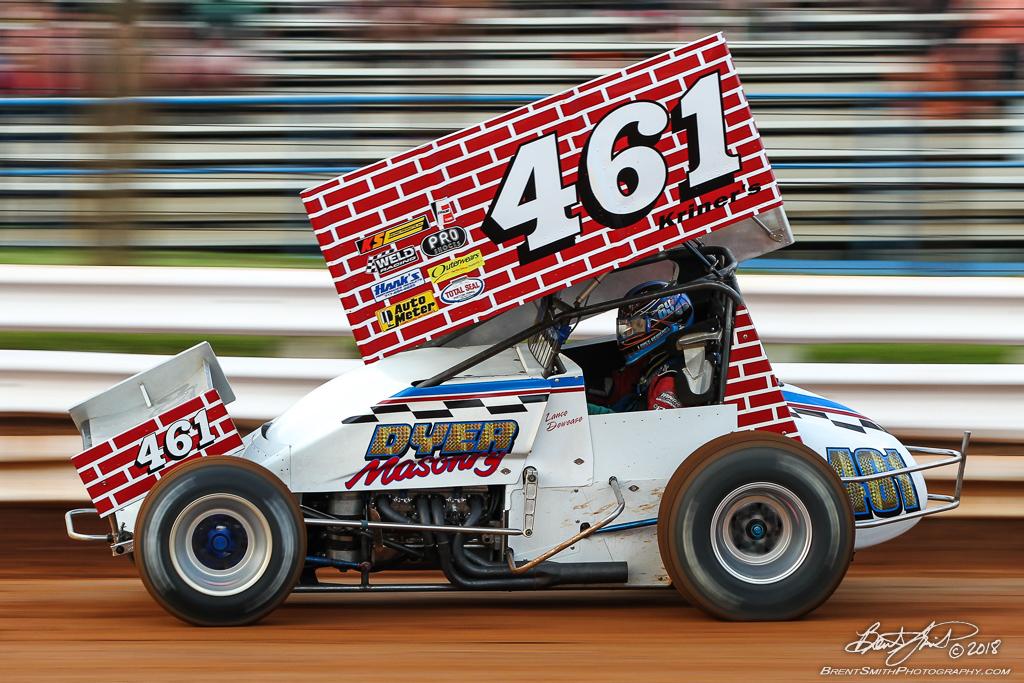 Walt Dyer Tribute Race - Williams Grove Speedway - 461 Lance Dewease