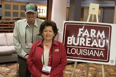 On March 16, 2018, Louisiana Farm Bureau Women's Leadership Committee Ex-Officio Denise Hymel and her husband, George 'Scrap' Hymel, attended the Louisiana Farm Bureau Women's Leadership Committee Spring Family Conference in Lafayette.
