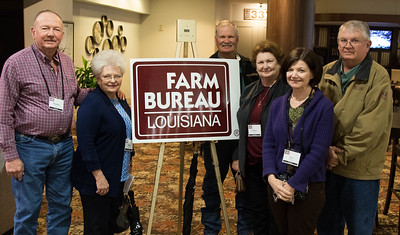 On March 16, 2018, Louisiana Farm Bureau Women's Leadership Committee Washington Parish Chair Becky Creel, Louisiana Farm Bureau Washington Parish President Russell Creel, Nicky Smith, Patsy Smith, Lisa Stafford, Bryan Stafford attended the Louisiana Farm Bureau Women's Leadership Committee Spring Family Conference in Lafayette