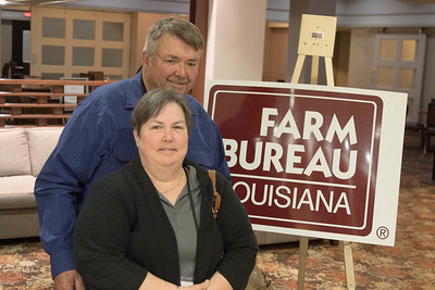 On March 16, 2018, Louisiana Farm Bureau Women's Leadership Committee East Baton Rouge Parish Chair Joy Womack and her husband, Victor Womack attended the Louisiana Farm Bureau Women's Leadership Committee Spring Family Conference in Lafayette.