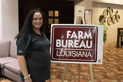 On March 16, 2018, Louisiana Farm Bureau Women's Leadership Committee District III Director Christy Ingram of Franklin Parish attended the Louisiana Farm Bureau Women's Leadership Committee Spring Family Conference in Lafayette.