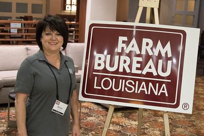 On March 16, 2018, Louisiana Farm Bureau Women's Leadership Committee 1st-Vice Chair Michele Simoneaux of Assumption Parish attended the Louisiana Farm Bureau Women's Leadership Committee Spring Family Conference in Lafayette.