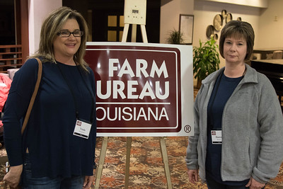 On March 16, 2018, Vonda Richardson and Sharon Roberts of Grant Parish attended the Louisiana Farm Bureau Women's Leadership Committee Spring Family Conference in Lafayette.