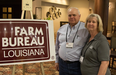On March 16, 2018, Louisiana Farm Bureau Women's Leadership Committee Secretary-Treasurer and Pointe Coupee Parish Farm Bureau Women's Leadership Committee Chair Fawn Courville, with her husband Rodney Courville, attended the Louisiana Farm Bureau Women's Leadership Committee Spring Family Conference in Lafayette.