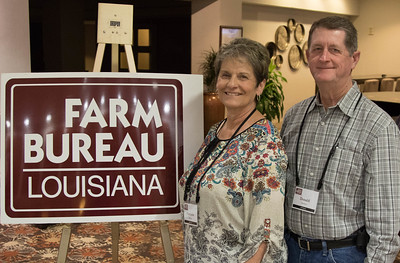 On March 16, 2018, Charlotte and Donald Berken of Jeff Davis Parish attended the Louisiana Farm Bureau Women's Leadership Committee Spring Family Conference in Lafayette.