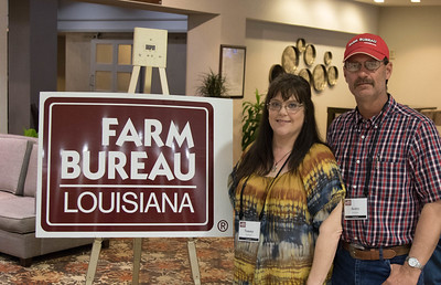 On March 16, 2018, Louisiana Farm Bureau Women's Leadership Committee Evangeline Parish Chair Tammy Fontenot and Louisiana Farm Bureau Evangeline Parish President Scotty Fontenot attended the Louisiana Farm Bureau Women's Leadership Committee Spring Family Conference in Lafayette.
