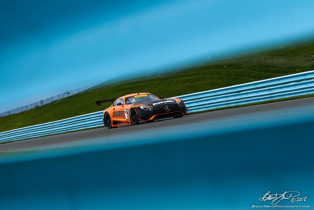 Pirelli World Challenge - Watkins Glen International - 2 Michael Cooper, CRP Racing, Mercedes-AMG GT3