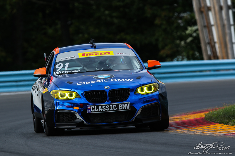 Pirelli World Challenge - Watkins Glen International - 91 Karl Wittmer, Classic BMW, BMW M235iR Cup