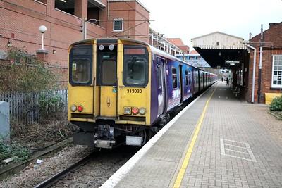313030 arrived on 2B45 ex Moorgate