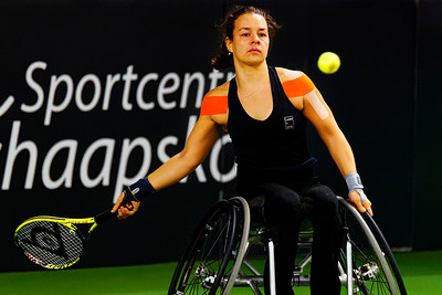 01.01b Marjolein Buis - Wheelchair Doubles Masters 2018