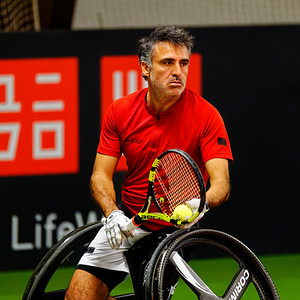01.05 Stephane Houdet - Wheelchair Doubles Masters 2018