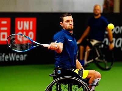 01.07a Joachim Gerard - Wheelchair Doubles Masters 2018