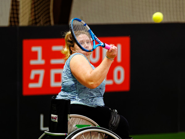 01.04 Louise Hunt - Wheelchair Doubles Masters 2018
