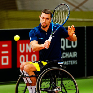 01.07 Joachim Gerard - Wheelchair Doubles Masters 2018