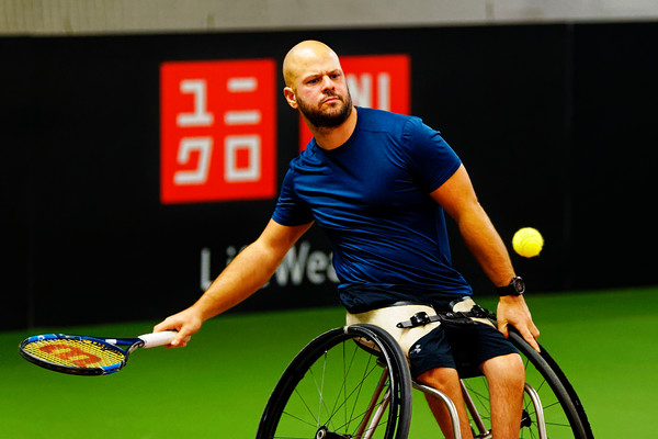 01.08a Stefan Olsson - Wheelchair Doubles Masters 2018