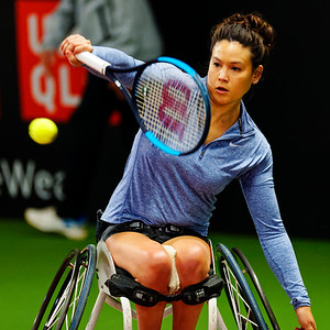 01.03 Dana Mathewson - Wheelchair Doubles Masters 2018