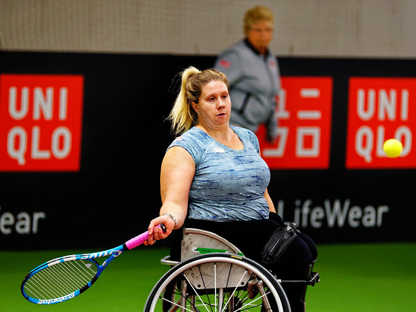 01.04a Louise Hunt - Wheelchair Doubles Masters 2018