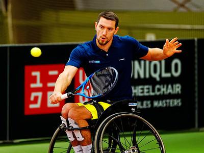 01.07b Joachim Gerard - Wheelchair Doubles Masters 2018
