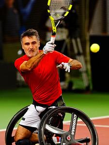 01.05b Stephane Houdet - Wheelchair Doubles Masters 2018
