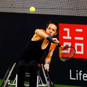 01.01a Marjolein Buis - Wheelchair Doubles Masters 2018